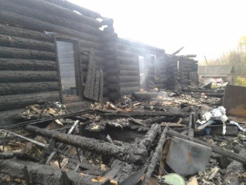 Пожар в Новоторъяльском районе унес жизнь пенсионерки