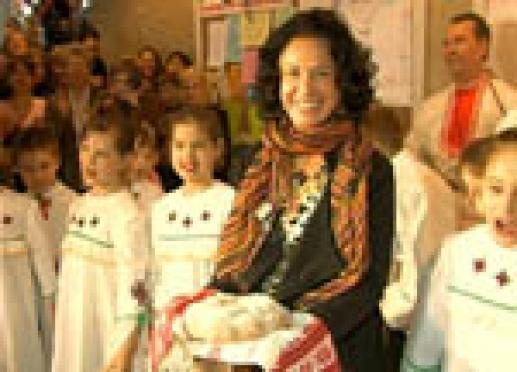 Надежда Бабкина дала мастер-класс детям столицы Марий Эл