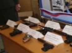 Арсенал МВД пополнился гражданским оружием