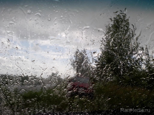 В Марий Эл идёт холодный Скандинавский циклон
