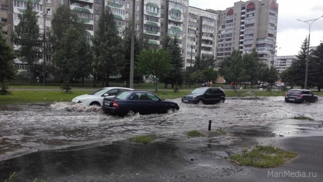 В ближайшие дни в Марий Эл ожидаются дожди, грозы и град