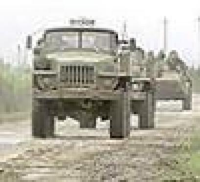 Военные Марий Эл вновь перекрыли две федеральные трассы