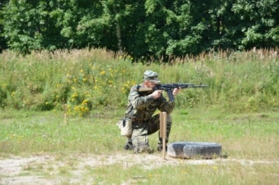 Спецназовцы выявляли лучших в стрельбе из боевого оружия