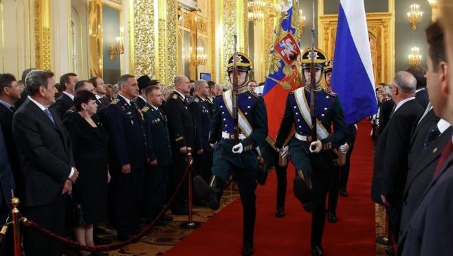 Александр Евстифеев приглашён на инаугурацию Владимира Путина