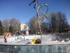 В Йошкар-Оле начался запуск городских фонтанов