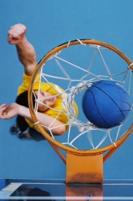Чемпионат России по баскетболу постер