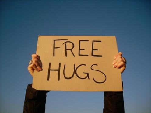 Акция «Бесплатные объятия» пройдет в Йошкар-Оле в среду