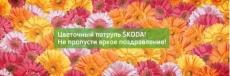 Дилерский центр ŠKODA «ТрансТехСервис Плюс» спешит поздравить женщин с Международным женским днем
