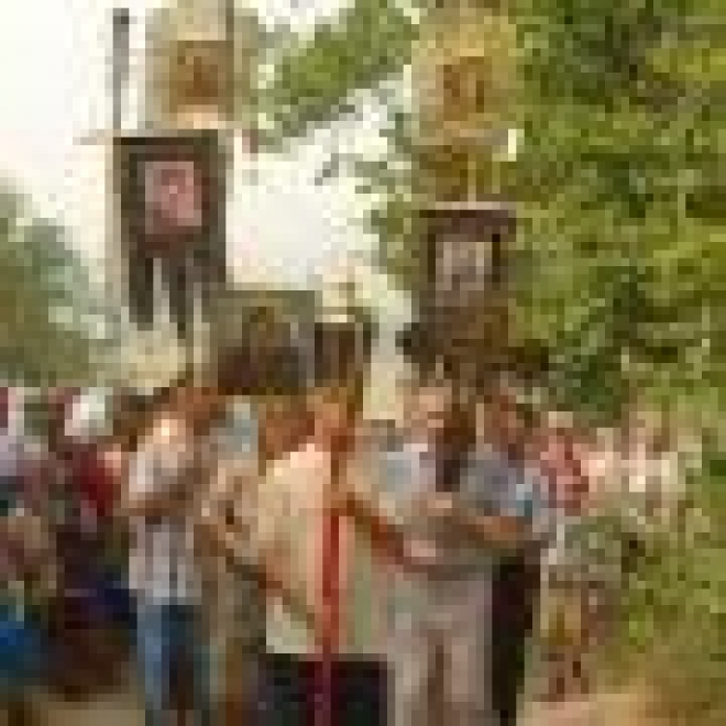 Жители Волжского района Марий Эл готовят чудотворный образ в «дорогу»
