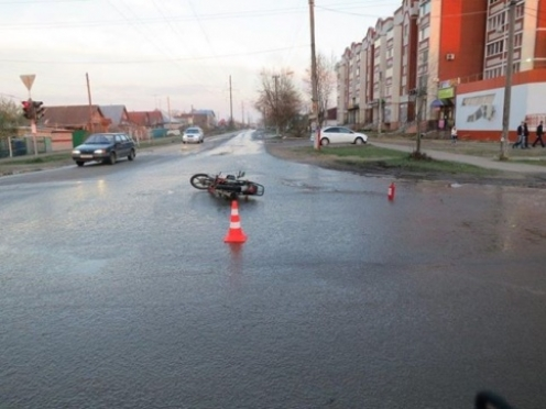 В майские праздники в ДТП пострадали три водителя мопедов