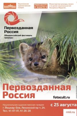 Первозданная Россия постер