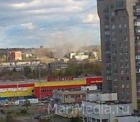 Неизвестные подожгли сараи на улице ГСБ