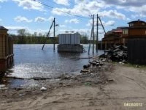 Село Кокшайск нынешней весной вероятно снова подтопит