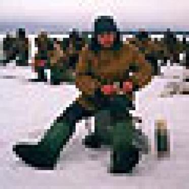 В Марий Эл весна для сотрудников УИН начнется с «зимней» рыбалки