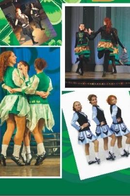Концерт ирландской музыки и танцев постер