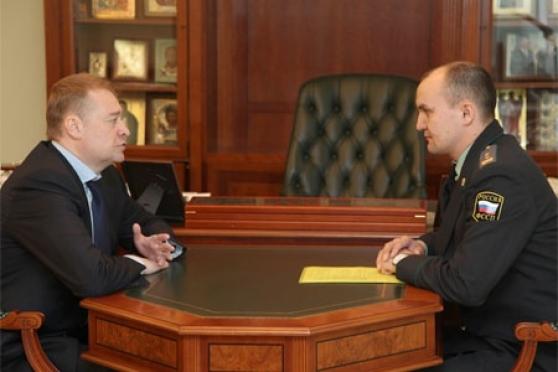 Новый главный судебный пристав Марий Эл поделился с Главой республики первыми впечатлениями о службе