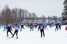 5 000 йошкаролинцев вышли на старт «Лыжня России-2016»
