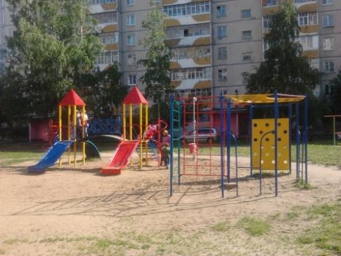 В Йошкар-Оле детские площадки растут как грибы