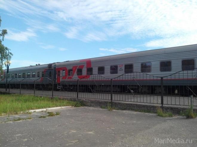 Поездом Йошкар-Ола-Москва был сбит 86-летний мужчина