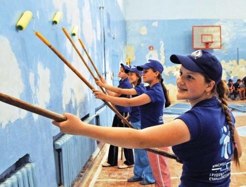 В Марий Эл удалось трудоустроить 813 подростков
