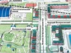 Воскресенский проспект станет пилотным проектом в Йошкар-Оле