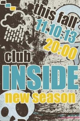 Акустика club Inside постер