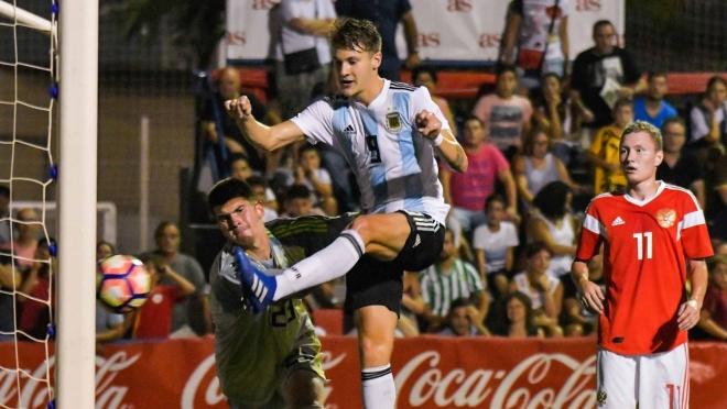 Сборная России U-20 стала второй на турнире COTIF-2018, проиграв только Аргентине