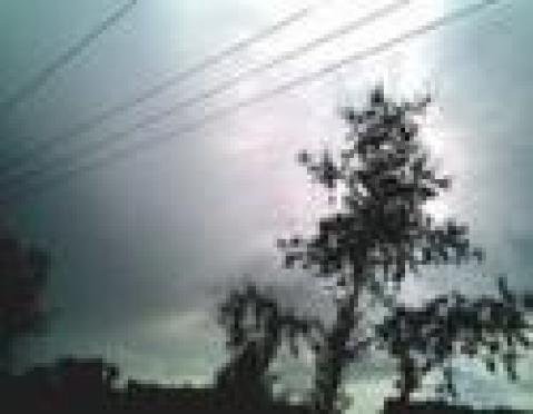 Молния стала причиной пожара в г. Волжск