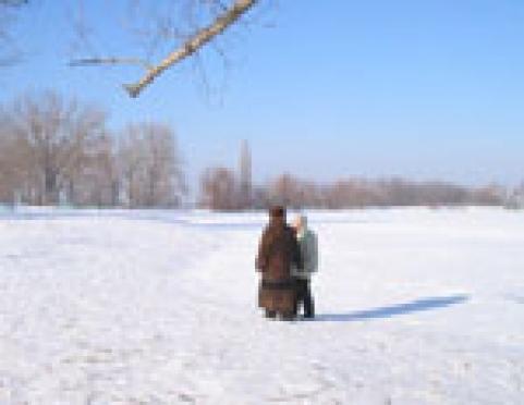 Лёд на водоемах Марий Эл подходит для пешеходов