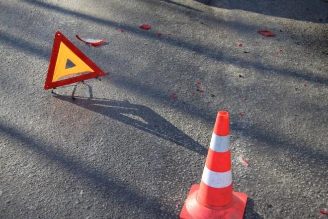 В Волжском районе иномарка сбила пешехода