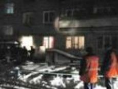 Пожар заставил жителей с.Семеновка простоять на морозе больше 2 часов