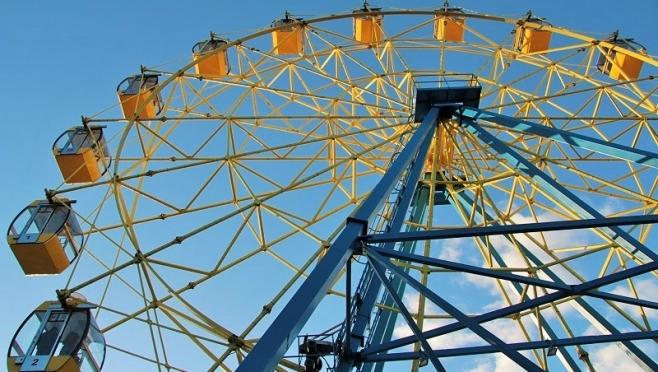 На колесе обозрения в Центральном парке появился бесплатный Wi-Fi