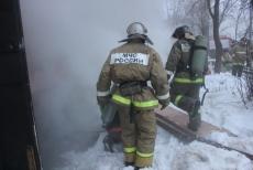 В поселке Красногорский УАЗ Patriot сгорел за шесть минут
