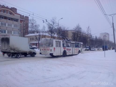О работе троллейбусов в новогоднюю ночь