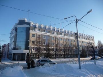 Здание МВД (утепление  вентилируемого  фасада  изоляцией  на основе базальтого волокна)