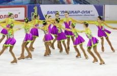Сегодня в Йошкар-Оле прошло открытие Чемпионата и Первенства России по синхронному катанию