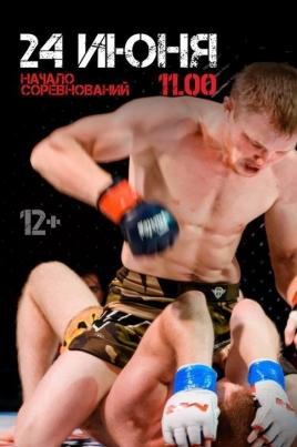 Открытый турнир и первенство по смешанному боевому единоборству (ММА) постер