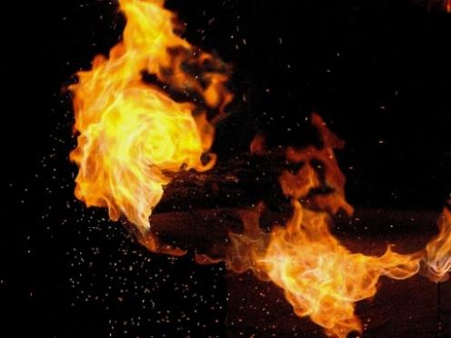 Очередной пожар по причине детской шалости произошел в Марий Эл