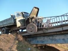 В Марий Эл грузовик чуть не угодил в реку