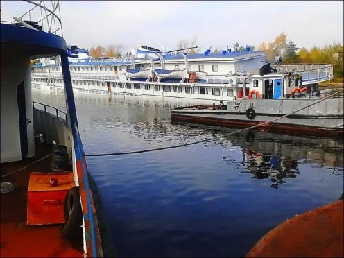 В Марий Эл затонул трехпалубный круизный теплоход «Князь Донской»