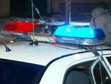 Сотрудники полиции разбираются в смерти коллеги