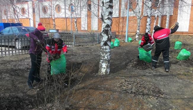 Зеленая весна наступила на АЗС «ЛУКОЙЛ-Волганефтепродукт»