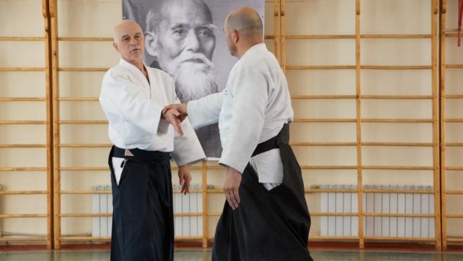 Поволжские Мастера айкидо делились опытом на татами