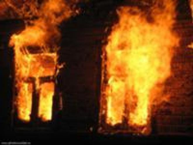 В субботу на пожаре погиб человек