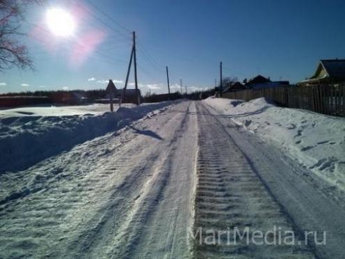 В Моркинском районе произошло «детское» ДТП
