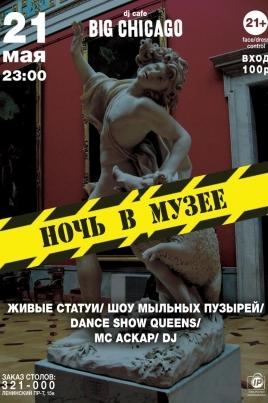 Ночь в музее постер