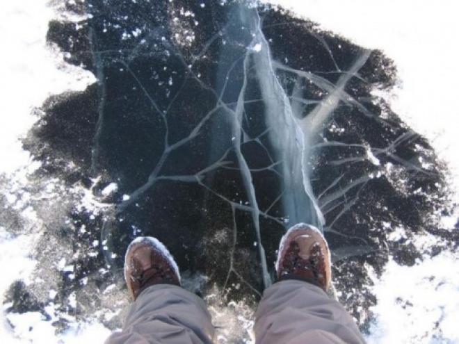 Ледовое покрытие на водоемах Марий Эл остается неоднородным