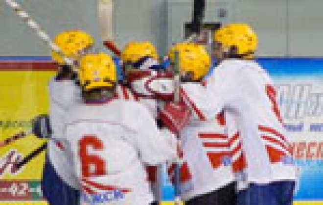 В марийско-татарском хоккейном дерби зафиксирована ничья