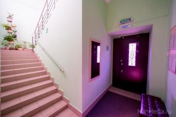 Коридор первого этажа медицинского центра Люцины Лукьяновой.