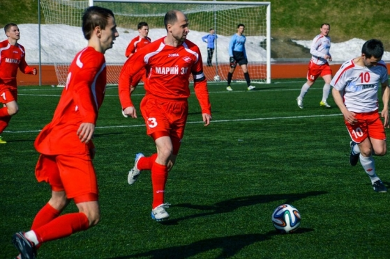 «Спартак Марий Эл» начал футбольный сезон в любительской лиге с победы